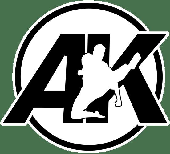 AK Logo Black, Amerikick Martial Arts (Park Slope) in Brooklyn, NY