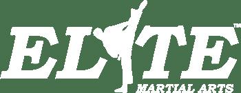 Logo White, Elite Martial Arts Olathe KS
