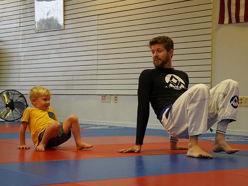 Preschool Gracie Jiu Jitsu class in Salt Lake City