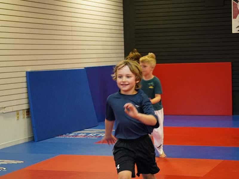 kids Gracie Jiu Jitsu class in Salt Lake City