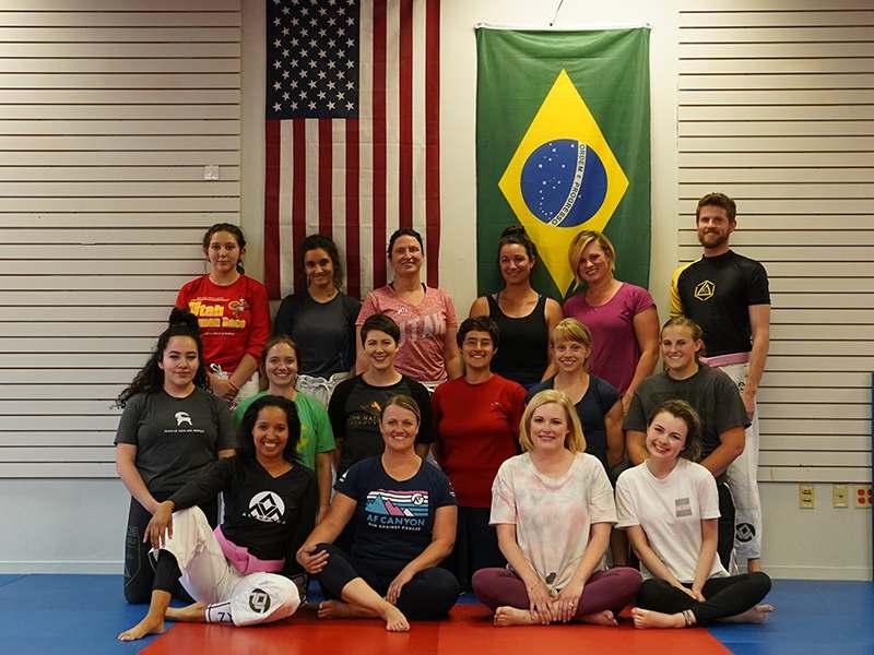 women's self-defense class in Salt Lake City