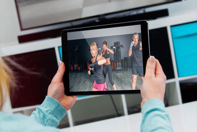 Boxingtablet1, Vital Fitness & Self Defense Las Colinas, TX